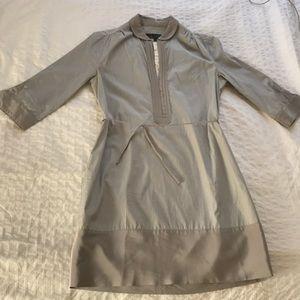 Rag and Bone striped silk shirt dress